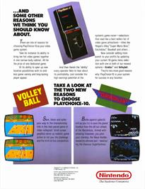 Advert for Metroid on the Nintendo Arcade Systems.