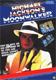 Advert for Michael Jackson's Moonwalker on the Arcade.