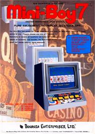 Advert for Mini Boy 7 on the Arcade.