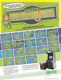 Advert for Mini Golf on the Arcade.