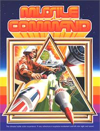 Advert for Missile Command on the Atari 5200.