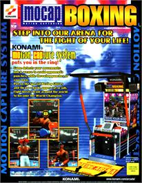 Advert for Mocap Boxing on the Arcade.