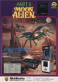 Advert for Moon Alien Part 2 on the Arcade.