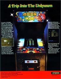 Advert for Moon War on the Arcade.