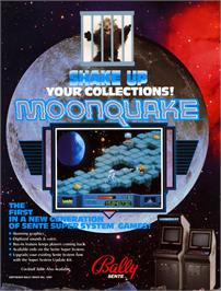Advert for Moonquake on the Arcade.