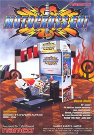 Advert for Motocross Go! on the Arcade.