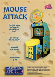 Advert for Mouse Attack on the Arcade.