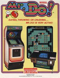 Advert for Mr. Do! on the MSX.