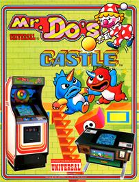 Advert for Mr. Do's Castle on the Atari 8-bit.