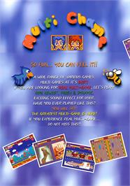 Advert for Multi Champ on the Arcade.