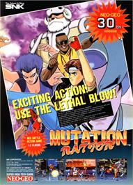 Advert for Mutation Nation on the Arcade.
