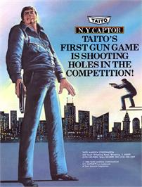 Advert for N.Y. Captor on the Arcade.