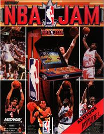 Advert for NBA Jam on the Nintendo SNES.