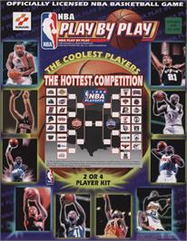 Advert for NBA Play By Play on the Arcade.