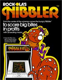 Advert for Nibbler on the Arcade.