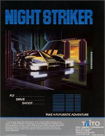 Advert for Night Striker on the Arcade.