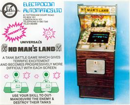 Advert for No Man's Land on the Arcade.