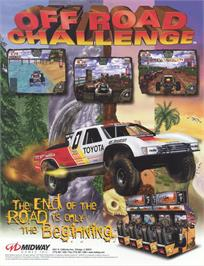 Advert for Off Road Challenge on the Arcade.