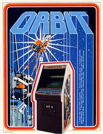 Advert for Orbit on the Coleco Vision.