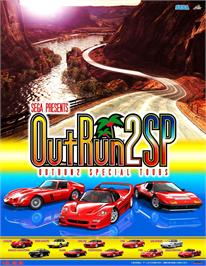 Advert for Out Run 2 Special Tours on the Arcade.