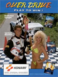 Advert for Over Drive on the Arcade.