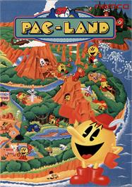 Advert for Pac-Land on the NEC TurboGrafx-16.