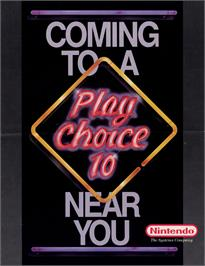 Advert for PinBot on the Nintendo Arcade Systems.