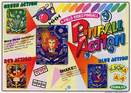 Advert for Pinball Action on the Arcade.