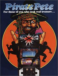 Advert for Pirate Pete on the Arcade.