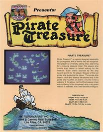 Advert for Pirate Treasure on the Arcade.