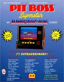 Advert for Pit Boss Superstar on the Arcade.
