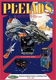 Advert for Pleiads on the Arcade.