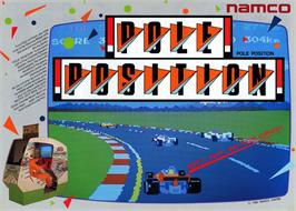 Advert for Pole Position on the Mattel Intellivision.