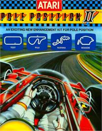 Advert for Pole Position II on the Atari 7800.
