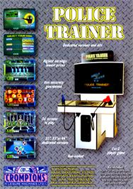 Advert for Police Trainer on the Arcade.