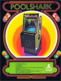 Advert for Poolshark on the Arcade.