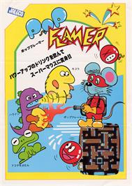 Advert for Pop Flamer on the Sega SG-1000.