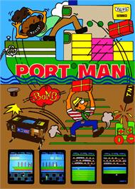 Advert for Port Man on the Arcade.