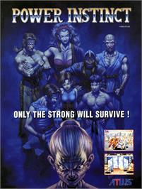 Advert for Power Instinct on the Sega Nomad.