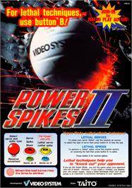 Advert for Power Spikes II on the Arcade.