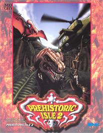 Advert for Prehistoric Isle 2 on the Arcade.