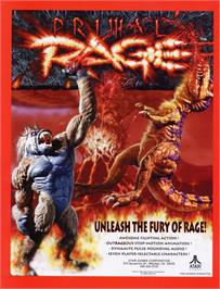 Advert for Primal Rage on the Sega 32X.