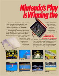 Advert for Pro Wrestling on the Sega Master System.