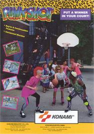 Advert for Punk Shot on the Arcade.