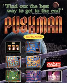 Advert for Pushman on the Arcade.