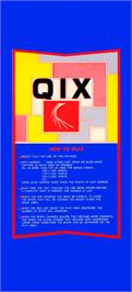 Advert for Qix II on the Arcade.