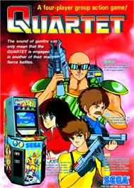 Advert for Quartet on the Arcade.