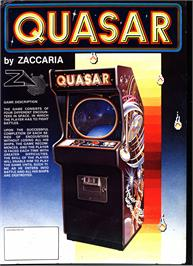Advert for Quasar on the Atari ST.