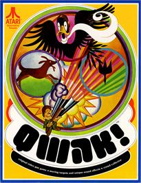Advert for Qwak on the Arcade.