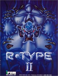 Advert for R-Type II on the Nintendo Game Boy.